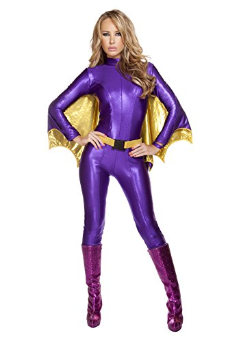 Roma Costume Women's 3 Piece Sexy Bat Warrior