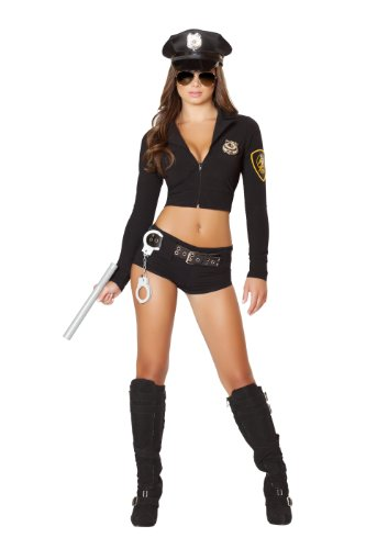 Roma Costume Women's 7 piece Officer Hottie