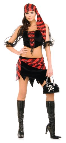 Rubie's Costume Captain's Wench Naughty Pirate Costume
