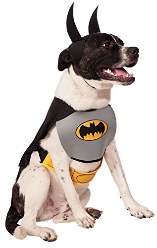 Rubies Costume DC Heroes and Villains Collection Pet Costume – Classic Batman