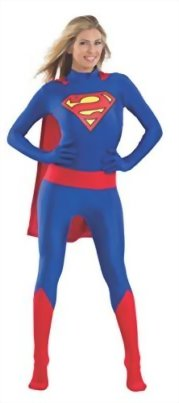 Rubies-Costume-Mens-Dc-Comics-Superhero-Style-Unisex-Superman-0-0