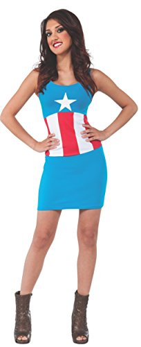 Rubies-Costume-Womens-Marvel-Universe-Adult-Captain-America-Tank-Dress-0