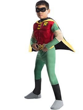 Rubies-DC-Comics-Teen-Titans-Deluxe-Muscle-Chest-Robin-Costume-0