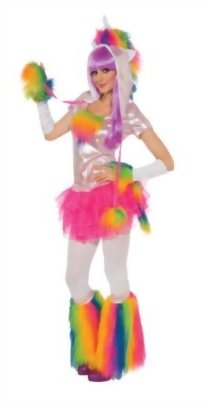 Rubies-Womens-Deluxe-Unicorn-Costume-and-Headpiece-0