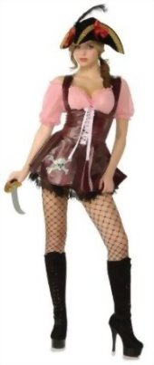 Secret-Wishes-Costume-Sea-Goddess-Naughty-Pirate-Costume-Multi-X-Small-0