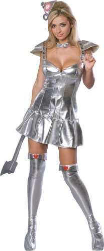 Secret Wishes Wizard Of Oz 75th Anniversary Edition Tin Woman Costume
