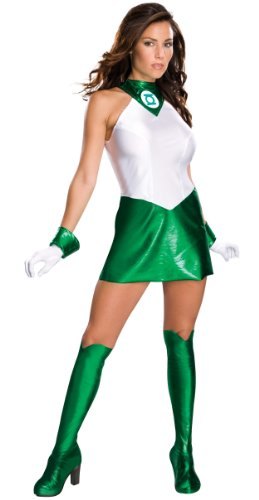 Secret Wishes Women's Green Lantern Adult Super Heroine Costume