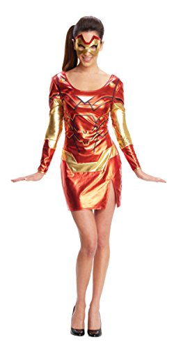 Secret-Wishes-Womens-Marvel-Universe-Iron-Man-Rescue-Costume-Dress-Eye-Mask-0