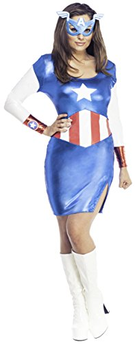 Secret-Wishes-Womens-Marvel-Universe-Miss-American-Dream-Costume-Dress-and-Eye-Mask-0