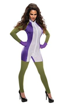 Secret-Wishes-Womens-Marvel-Universe-Miss-Hulk-Costume-Jumpsuit-0
