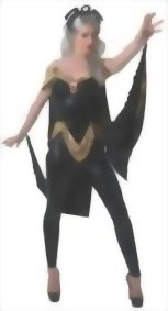 Secret-Wishes-Womens-Marvel-Universe-Storm-Costume-Cat-Suit-and-Mask-0