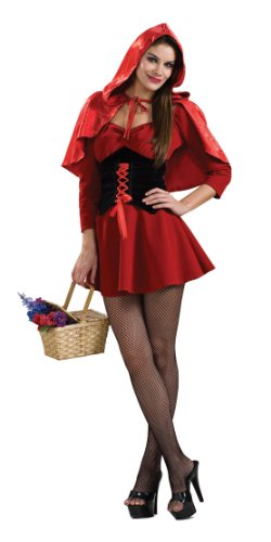 Secret Wishes Women's Red Riding Hood Sassy Adult Costume
