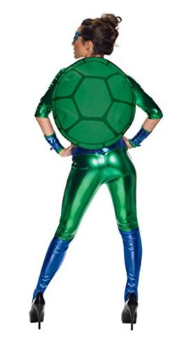 Secret-Wishes-Womens-Teenage-Mutant-Ninja-Turtles-Leonardo-Costume-Jumpsuit-0-0