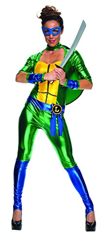 Secret-Wishes-Womens-Teenage-Mutant-Ninja-Turtles-Leonardo-Costume-Jumpsuit-0-1