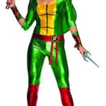 Secret-Wishes-Womens-Teenage-Mutant-Ninja-Turtles-Raphael-Costume-Jumpsuit-0-1