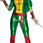 Secret-Wishes-Womens-Teenage-Mutant-Ninja-Turtles-Raphael-Costume-Jumpsuit-0