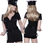 Sexy-Cop-Police-Costume-Uniform-outfit-fancy-dress-w-handcuffs-belt-hat-0-0