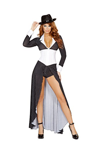 Sexy-Womens-2pc-Mafia-Mobster-Gangster-Mama-Costume-0