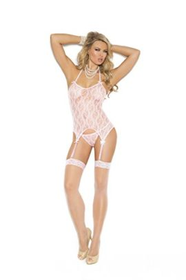 Sexy-Womens-Lace-Camisette-G-string-And-Stockings-Three-Piece-Lingerie-Set-0