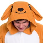 Silver-Lilly-Unisex-Adult-Pajamas-Plush-One-Piece-Cosplay-Kangaroo-Animal-Costume-0-1