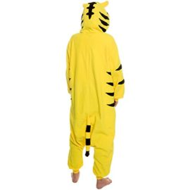 Silver-Lilly-Unisex-Adult-Pajamas-Plush-One-Piece-Cosplay-Tiger-Animal-Costume-0-0