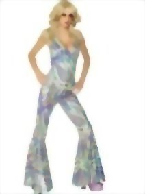 Smiffys-Adult-Womens-Dancing-Queen-Costume-Halterneck-Catsuit-70-Disco-0