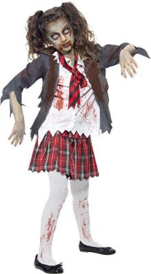 Smiffys-Girls-Zombie-School-Girl-Costume-0