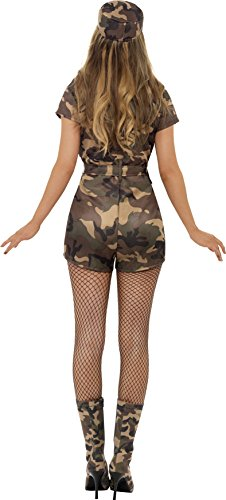 Smiffys-Womens-Army-Girl-Sexy-Costume-0-0
