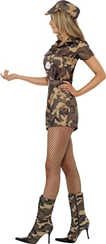 Smiffys-Womens-Army-Girl-Sexy-Costume-0-1