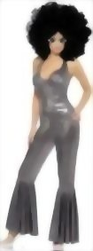 Smiffys-Womens-Disco-Diva-Flared-Jumpsuit-Costume-0