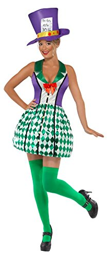 Smiffys-Womens-Lady-Mad-Hatter-Costume-with-Dress-and-Hat-0