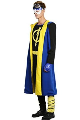 Static-Shock-Costume-Deluxe-Full-Set-Coat-Shirt-Belt-Cosplay-Outfits-0-0