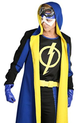 Static-Shock-Costume-Deluxe-Full-Set-Coat-Shirt-Belt-Cosplay-Outfits-0-2