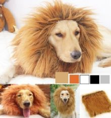 Sunreek-Large-Pet-Dog-Cat-Lion-Wigs-Mane-Hair-Festival-Party-Fancy-Dress-Clothes-Costume-0