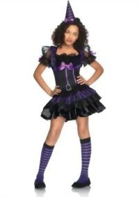 UHC-Spell-Casting-Sweetie-Junior-Preteen-Tween-Girls-Witch-Fancy-Dress-Costume-0