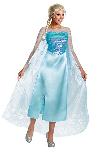 UHC-Womens-Frozen-Disney-Snow-Queen-Elsa-Halloween-Costume-0