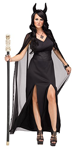 UHC Women's Keeper Of The Damned Theme Dress Up Lucifer Devil Halloween Costume