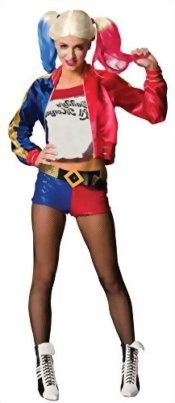 UHC-Womens-Suicide-Squad-Harley-Quinn-Outfit-Fancy-Dress-Halloween-Costume-0