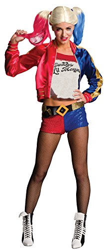 UHC Women's Suicide Squad Harley Quinn Outfit Fancy Dress Halloween Costume