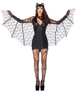 UHC-Womens-Vampire-Bat-Theme-Party-Fancy-Dress-Adult-Halloween-Costume-0