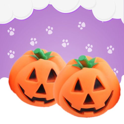 UNAKIM-Orange-Halloween-Pumpkin-Pet-Dog-Chew-Fun-Play-Toy-Squeak-Pet-Supply-1pc-2017-0