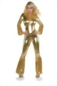 Underwraps-Costumes-Womens-Gold-Metallic-Jumpsuit-Costume-Disco-Diva-0