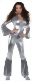 Underwraps-Costumes-Womens-Silver-Metallic-Jumpsuit-Costume-Foxy-0
