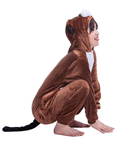 Unisex-Adult Anime Cosplay Outfit Dog Halloween Costumes Pajamas
