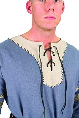 Viking-Nobles-Cotton-Tunic-Medieval-Mens-Dark-Ages-Halloween-Costume-0-2