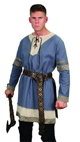 Viking-Nobles-Cotton-Tunic-Medieval-Mens-Dark-Ages-Halloween-Costume-0