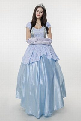 Womens-Enchanting-Princess-Costume-Cinderella-Ball-Gown-Fairy-Tale-Deluxe-Dress-0-3