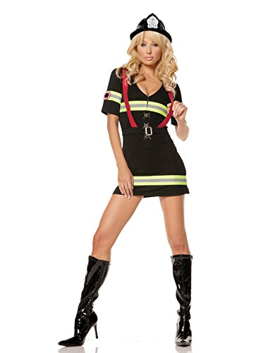 Women's Hot Firefighter Costume