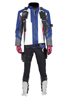 Xiao-Maomi-Mens-Pleather-Jacket-Halloween-Full-Set-Cosplay-Costume-0