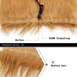 YOUTHINK-Lion-Mane-for-Dog-Large-Medium-with-Ears-Pet-Lion-Mane-Costume-Button-Adjustable-Holiday-Photo-Shoots-Party-Festival-Occasion-Light-Brown-0-0